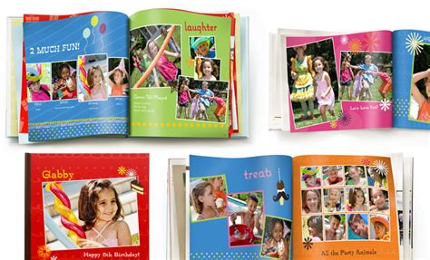 photo book from pictures birthday photo books shutterfly