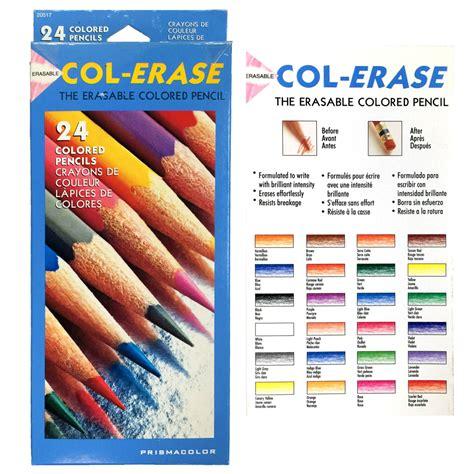 prismacolor col erase 24 colored pencils set for animation