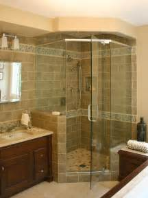 bathroom and shower ideas corner shower bathroom shower ideas pinterest