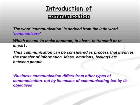 patterns of business communication ppt business communication ppt