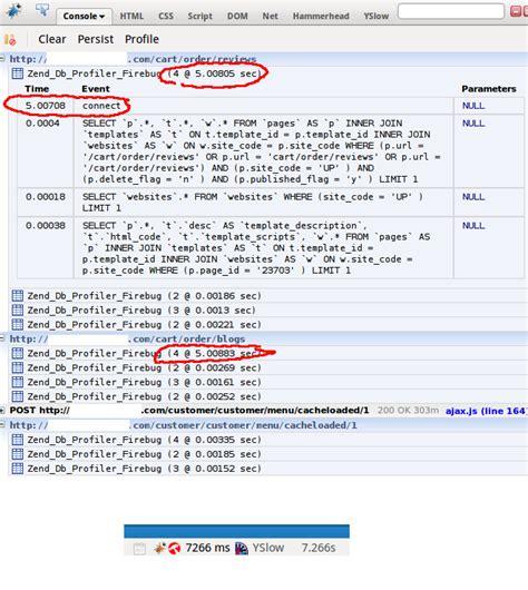 zend framework format date mysql zend framework slow connect to mysql 程序代码库 the program
