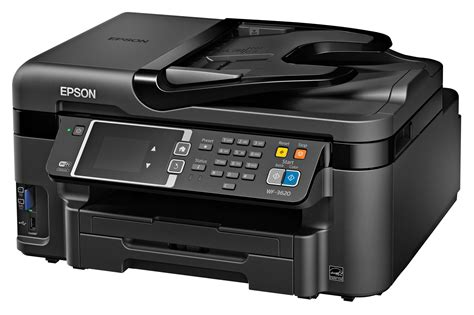 Printer Epson Wf 3620 epson workforce printers with precisioncore printheads pcworld