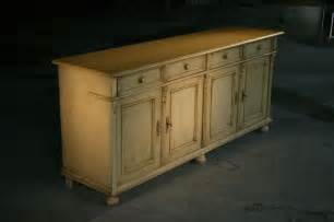 hand made country style white kitchen hutch amp buffet by