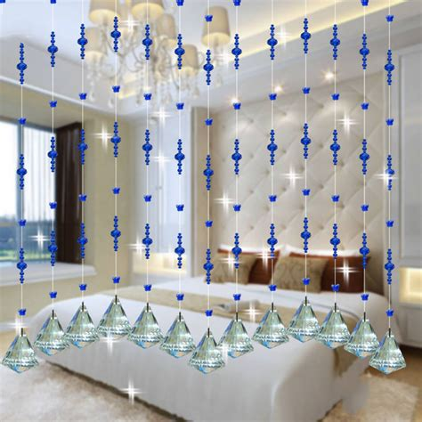home decor hanging beads aliexpress com buy crystal glass beads rope curtain home