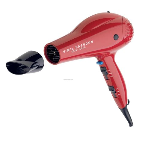 Hair Dryers With Attachments vidal sassoon 1875 watt size ionic professional hair dryer china wholesale vidal sassoon