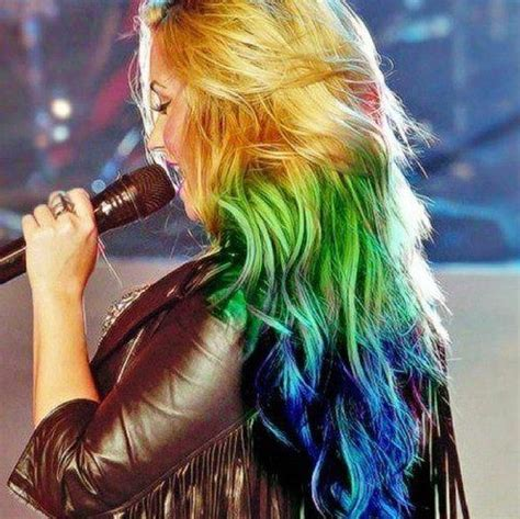 multi colored hairstyle hairstyles weekly