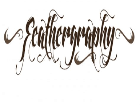tattoo lettering inspiration cool tattoo fonts feathergraphy decoration font tattoo by