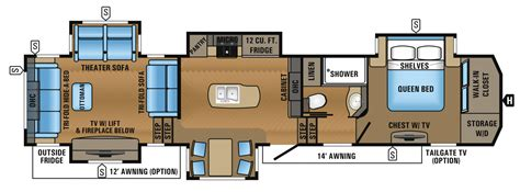 jayco fifth wheel floor plans 2017 north point luxury fifth wheel floorplans prices