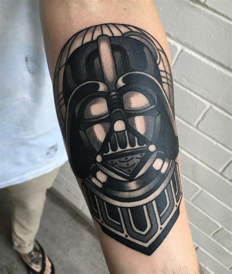 vader tattoo by aj tattoo darth vader on luke wa ink tattoo insta
