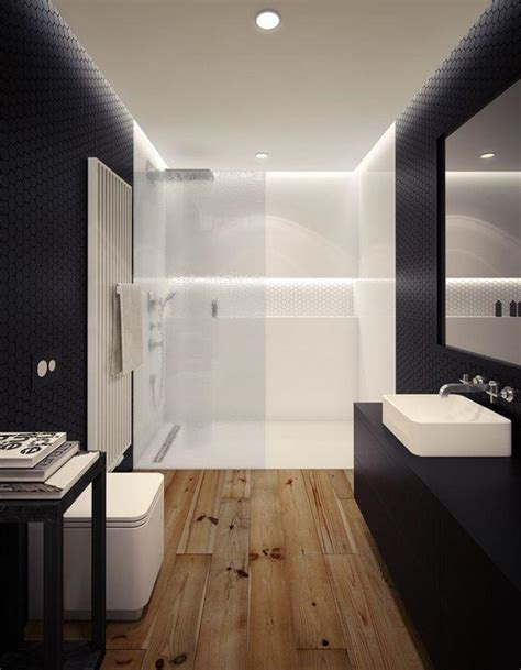 Wood Floors In The Bathroom by 15 Stunning Bathroom With Hardwood Flooring