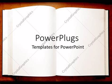 book powerpoint template