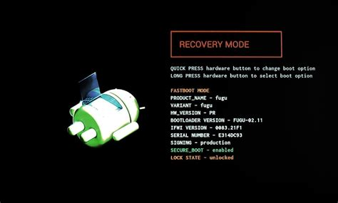 android picture recovery how to boot android phone into recovery mode