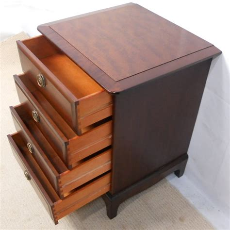 sold small stag minstrel chest of drawers