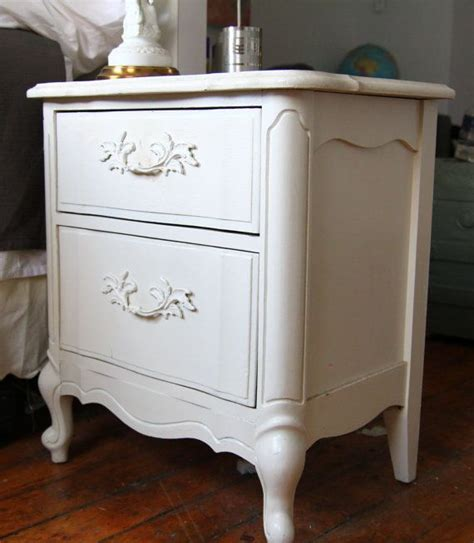 victorian shabby chic bedside table