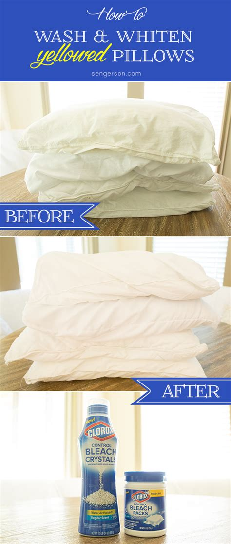 How Often Wash Pillows by Wash And Whiten Yellowed Pillows