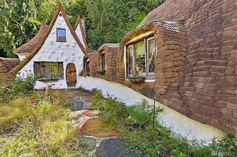 whimsical cottage out of snow white can be yours