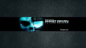 Ghost recon channel art banner youtube channel art banners