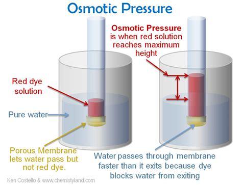 osmotic pressure osmotic shock