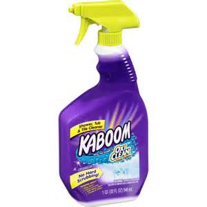 kaboom shower tub tile cleaner 32 oz walmart