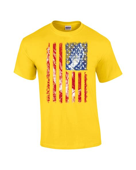 T Shirt One 33 patriotic t shirt american flag with praying psalms