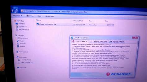 canon e510 resetter tool download canon service tool v4905 youtube