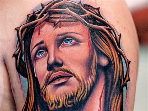 Jesus Tattoos For Men Ideas And Inspiration For Guys Jesus With Thorns Tattoos