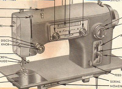 Sewing Manuals Amp Instruction Sewing Machine Accessories