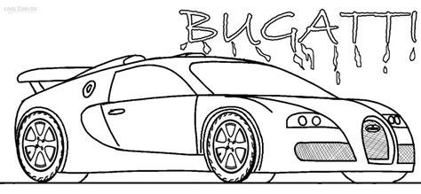 coches bugati coloring pages