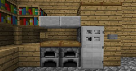 Kitchen Ideas For Minecraft Minecraft Kitchen