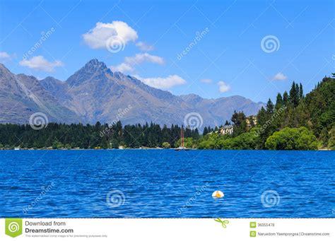 beautiful lake beautiful sky beautiful day at lake blue sky and fresh water stock photo