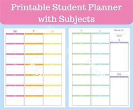 17 melhores ideias sobre student planner printable no