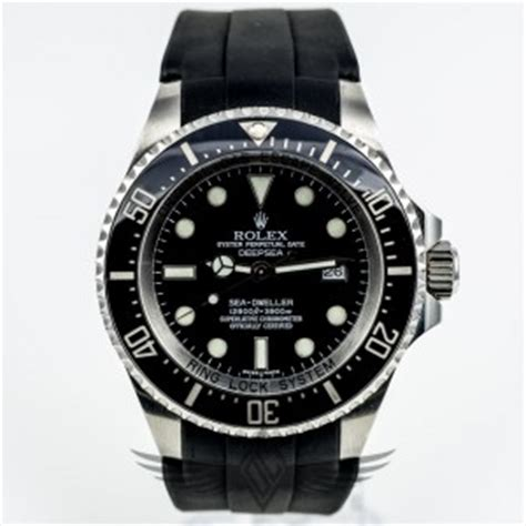 Rolex Wednesday with the Rolex DeepSea SeaDweller on a Rubber B Strap   OC Watch Company Watch Store