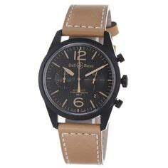 Bell Ross Vintage Aviation Black Steel Circle Brown Leather 1000 images about bell and ross watches on bell ross chronograph and aviation