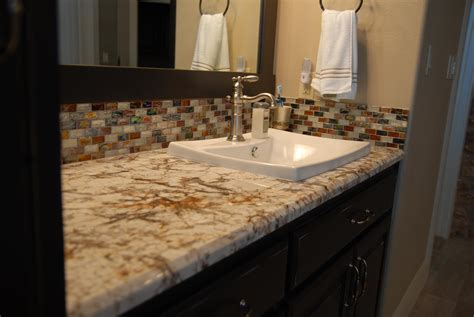 small bathroom countertop ideas 30 interesting bathroom countertop granite tile picture