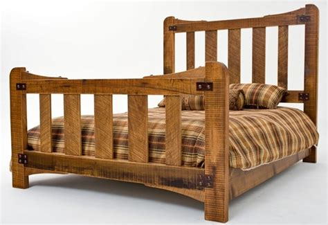 Bed Frame Brace Bungalow Bed Design 2 Features Solid Wood Forged