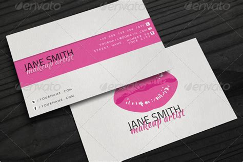 artist business cards templates free 40 makeup artist business card templates free psd designs