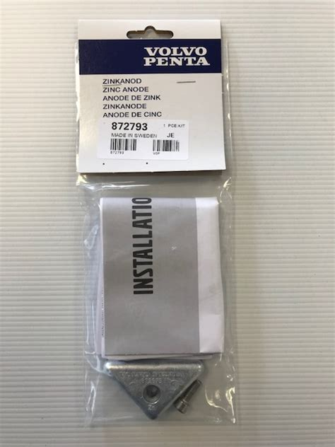 outdrive triangle anode  sp  outdrive anodes volvo penta uk