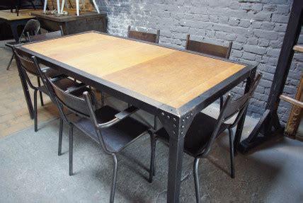 Table A Manger Industrielle 91 by Table Industrielle Bois M 233 Tal Recherche Table