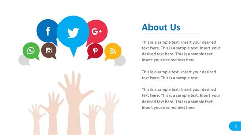 Social Media Report Powerpoint Templates Slidemodel Social Media Powerpoint Template Free