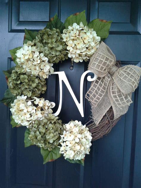 door wreaths front door wreath spring door wreath monogram by