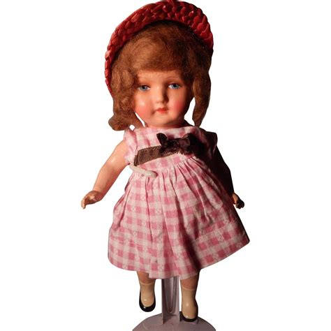 german composition doll sweet 11 german composition doll from rubylane sold