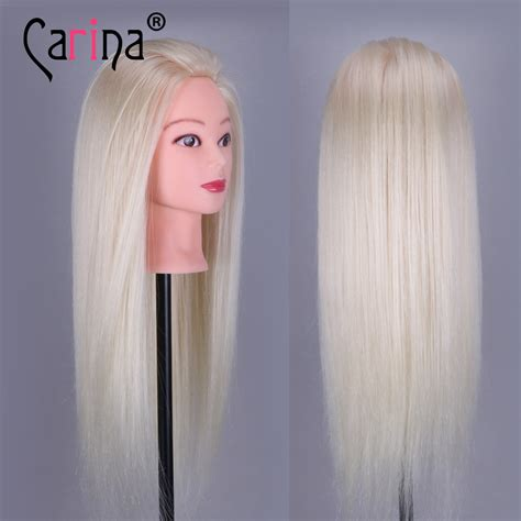 Real Hair Mannequin Heads by 90 Real Hair Dummy Mannequin Hair Styling