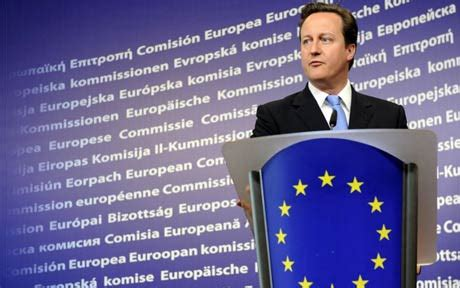Cameron Takes A Fresh Approach To by The Eurozone Crisis Is A Opportunity For Britain