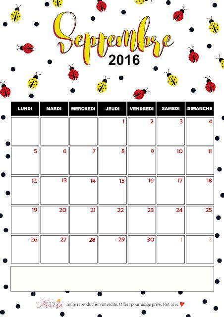 Calendrier Septembre 2016 Septembre 2017 1000 Ideas About Calendrier Septembre 2016 On