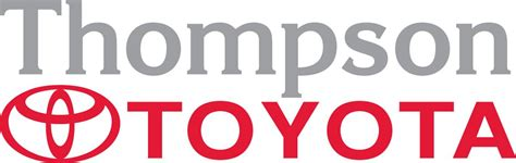 toyota service logo never an appointment needed at thompson toyota service