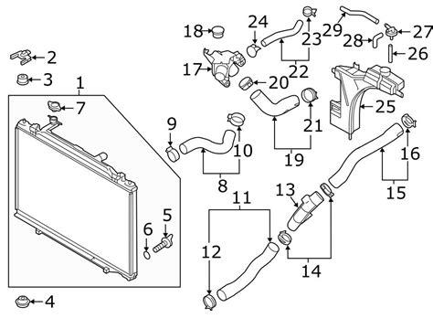 mazda product line 2012 mazda 5 radiator hose cl transmission oil cooler