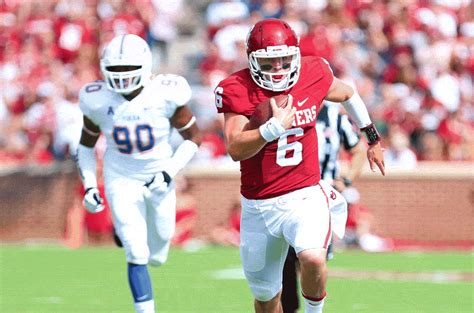 3 And 4 Grade Mba Basketball Mayfield Record by Oklahoma Football Baker Mayfield S Big Day By The Numbers