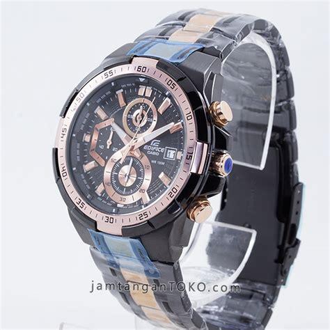 D Ziner D 8171 Black Rosegold Original harga sarap jam tangan edifice efr 539bkg 1av black gold