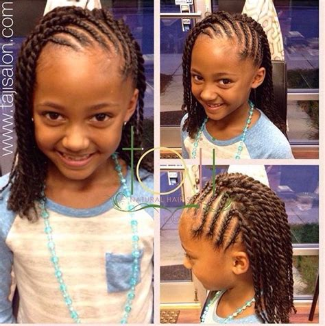 childrens haircuts berkeley ca kids style cornrows with two strand twist done by natural