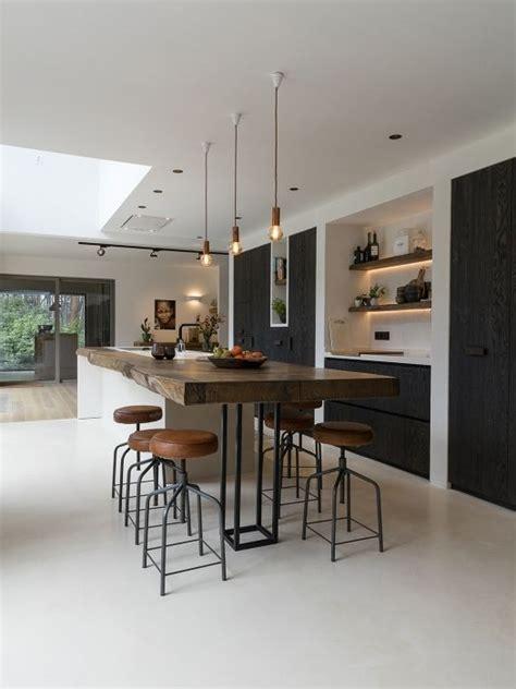 keuken ideen 25 beste idee 235 n over zwarte keukens op pinterest